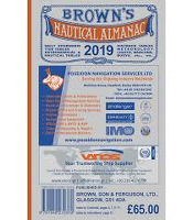 BROWN''S NAUTICAL ALMANAC 2019