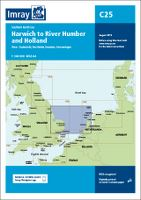 IMRAY C25 - SOUTHERN NORTH SEA PASSAGE CHART - HAR