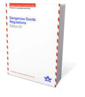 DANGEROUS GOODS REGULATIONS (IATA9065-61) 2020