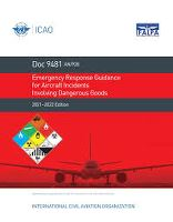 EMERGENCY RESPONSE GUIDANCE FOR AIRCRAFT DG / 9481