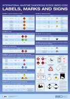Poster: IMDG Code Labels, Marks and Signs (2018 Ed