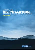 MANUAL ON OIL POLLUTION SECTION II - CONTINGENCY P