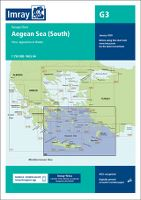 IMRAY G3 - AEGEAN SEA (SOUTH) - PASSAGE CHART