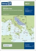 IMRAY M23 - NORTHERN ADRIATIC PASSAGE CHART - GOLF