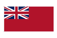 FLAG GREAT BRITAIN, RED ENSIGN  60CM