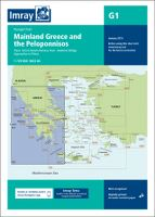 IMRAY G1 - PASSAGE CHART - MAINLAND GREECE AND THE