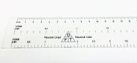 Nautical Ruler, linjal 40 cm