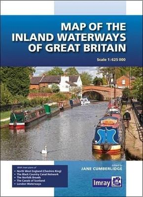 MAP OF THE INLAND WATERWAYS OF GREAT BRITAIN 2016