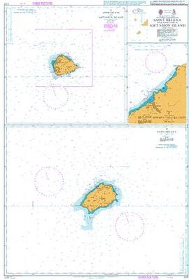 Saint Helena with Approaches to Ascension Island